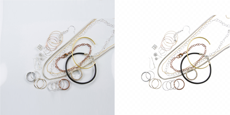 Clipping Path for Jewelry Photo Editing