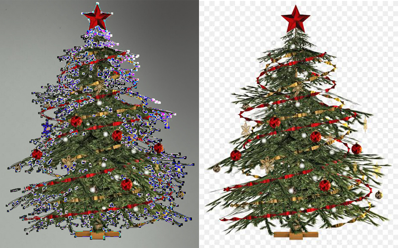 Supper Complex Clipping Path
